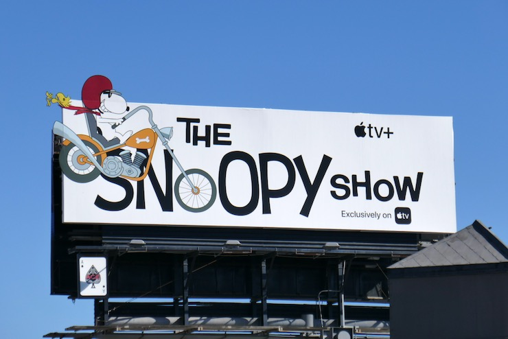 Snoopy Show extension billboard