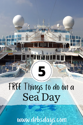 5 free things to do on a sea day when on a cruise ship