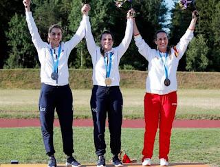 JUEGOS EUROPEOS Minsk 2019 - Bronce y plaza olímpica para Fátima Gálvez en foso