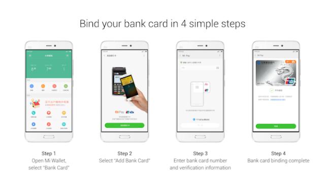 Xiaomi Mi Pay Mendukung 20 Bank di Cina