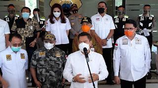 Komisi 3 DPR RI Kunker di Polda Jateng dan Membagikan 36.000 Masker Kepada Komunitas Masyarakat Jateng