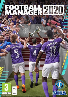 Capa do Football Manager 2020