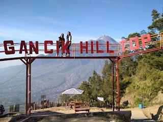 Tiket Masuk Dan Lokasi Gancik Hill Top Selo Boyolali