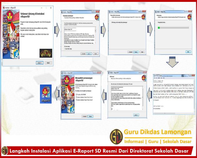 Langkah Instalasi Aplikasi E-Raport SD Resmi Dari Direktorat Sekolah Dasar