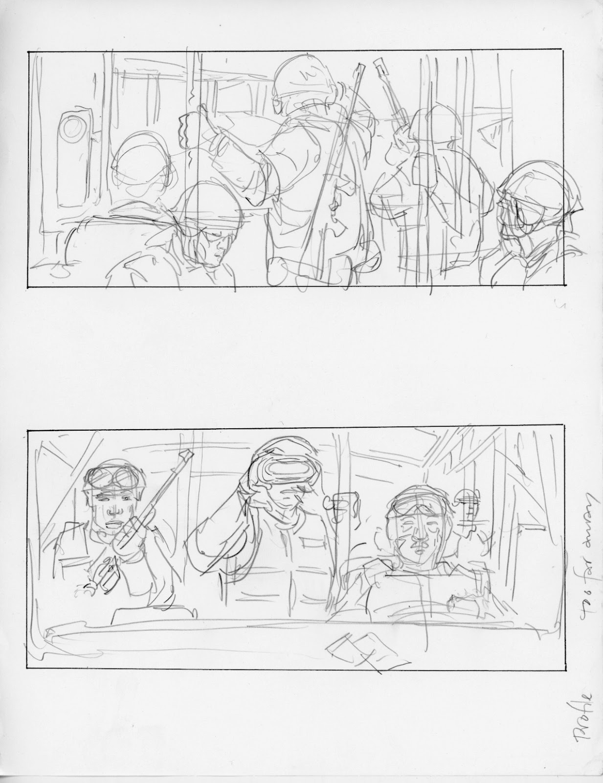 ricardo delgado u0026 39 s blog  battle  los angeles storyboards 029
