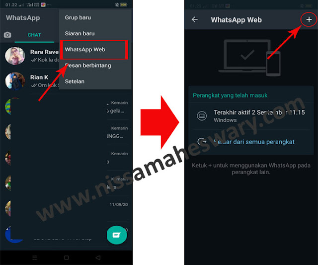 Cara Sadap WhatsApp Dengan Kode QR