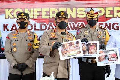 Polda Jateng Menangani Kasus Ledakan Petasan Kebumen Yang Menewaskan 4 Orang