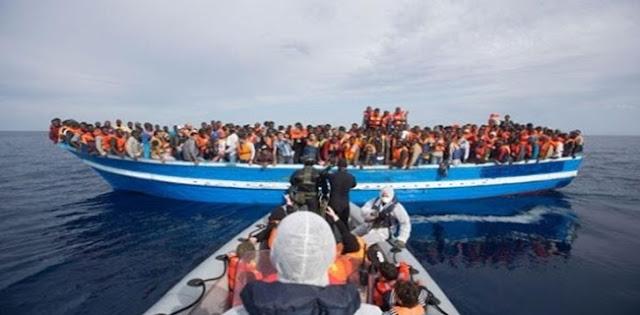 Kapal Imigran Gelap Yang Hendak Menyeberang Ke Spanyol Karam Di Lepas Pantai Mauritania, Sebagian Besar Penumpang Diduga Tewas
