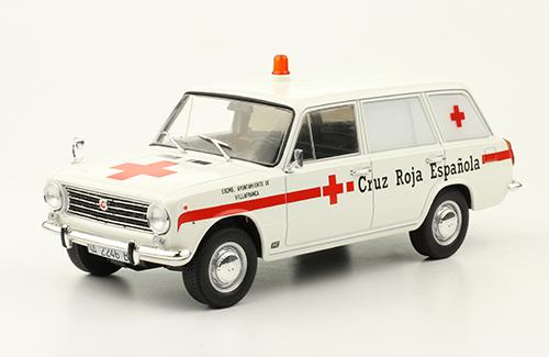 Ambulanz 1:43 # 01 Sammlung Russisches Modellauto von DeAgostini