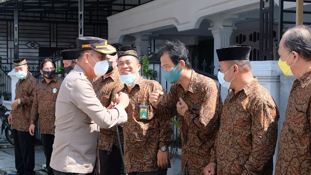 Kapolres Tanjung Balai silaturrahmi ke Forum Kerukunan Ummat Beragama (FKUB) Kota Tanjung Balai