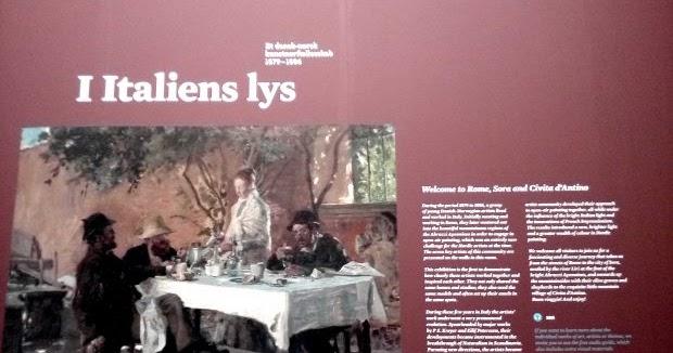 """""""Italien Lys"""" una mostra al Den Hirschsprungske Samling di Copenaghen"""