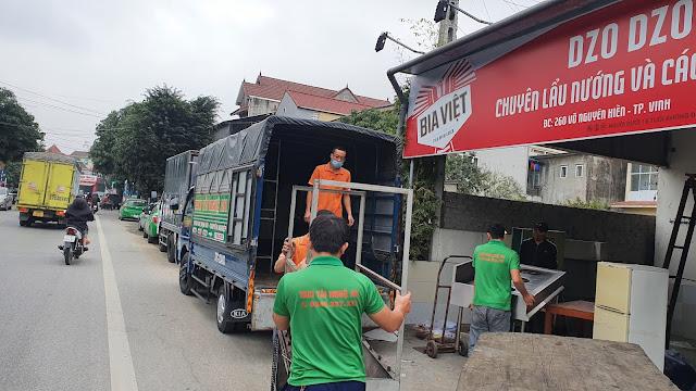 dịch vụ vận tải nghệ an