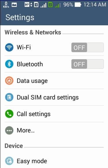 Setting Smartphone Android Jadi Modem WiFi Dan Modem USB