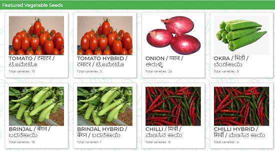 Recently IIHR Banglore Develops online portal for Buying seeds