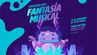 FANTASÍA MUSICA Proyección Laser | Planetario