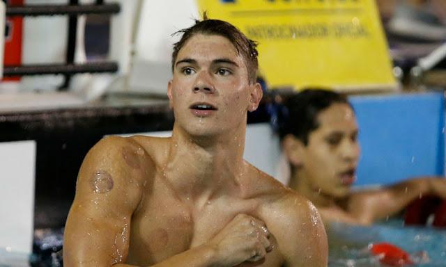 Nadador Murilo Sartori é principal destaque do Brasil no open de Loulé