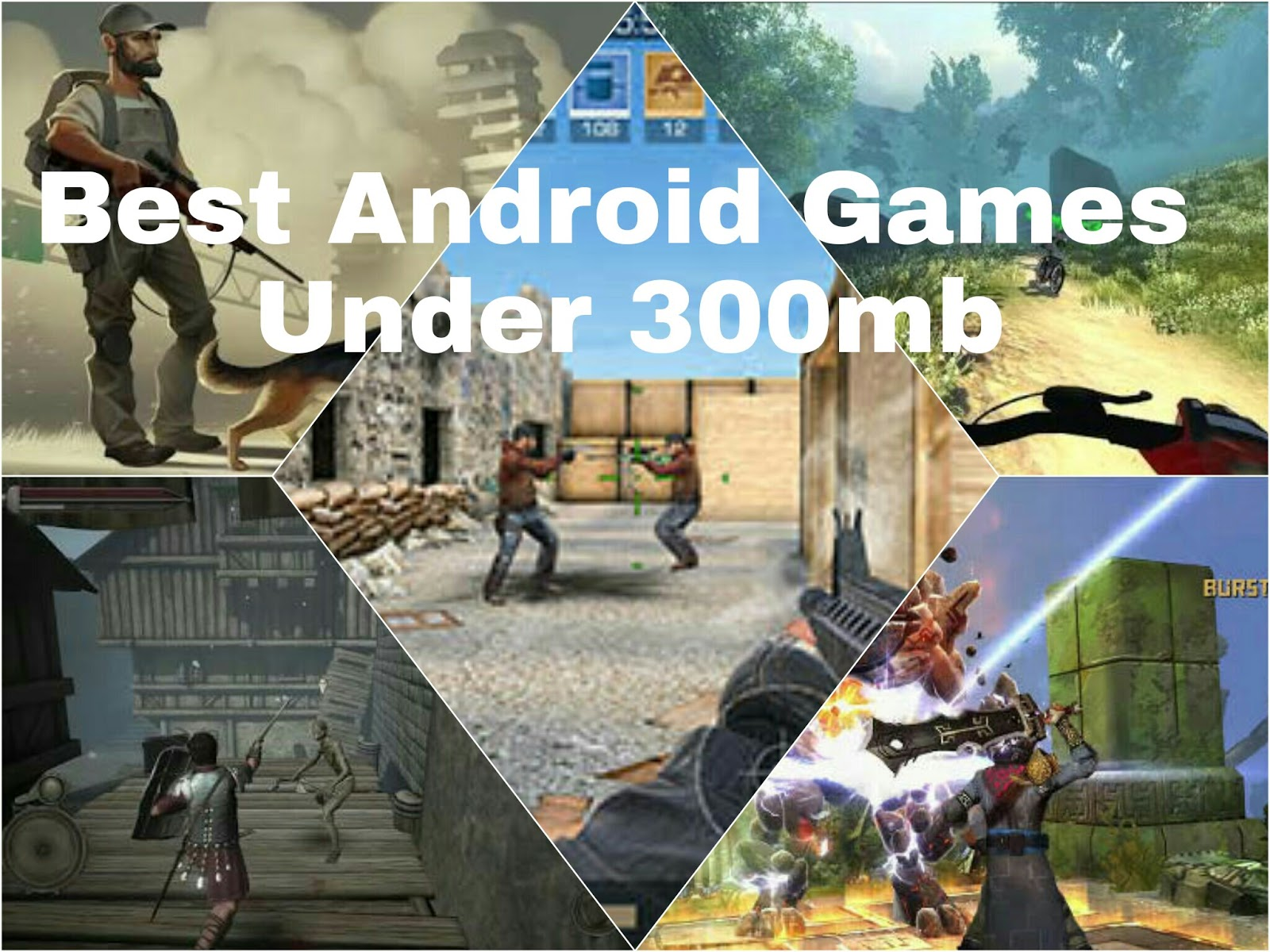 Top 5 Games under 300mb