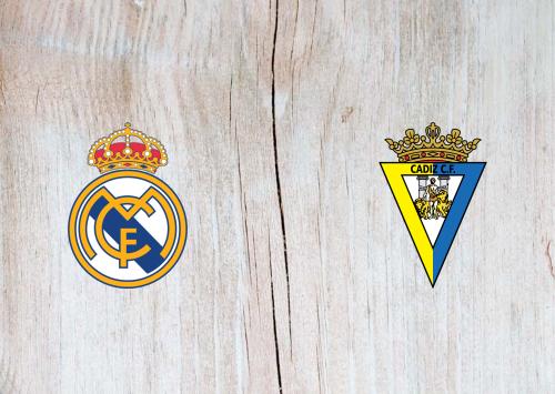 Real Madrid vs Cádiz -Highlights 17 October 2020