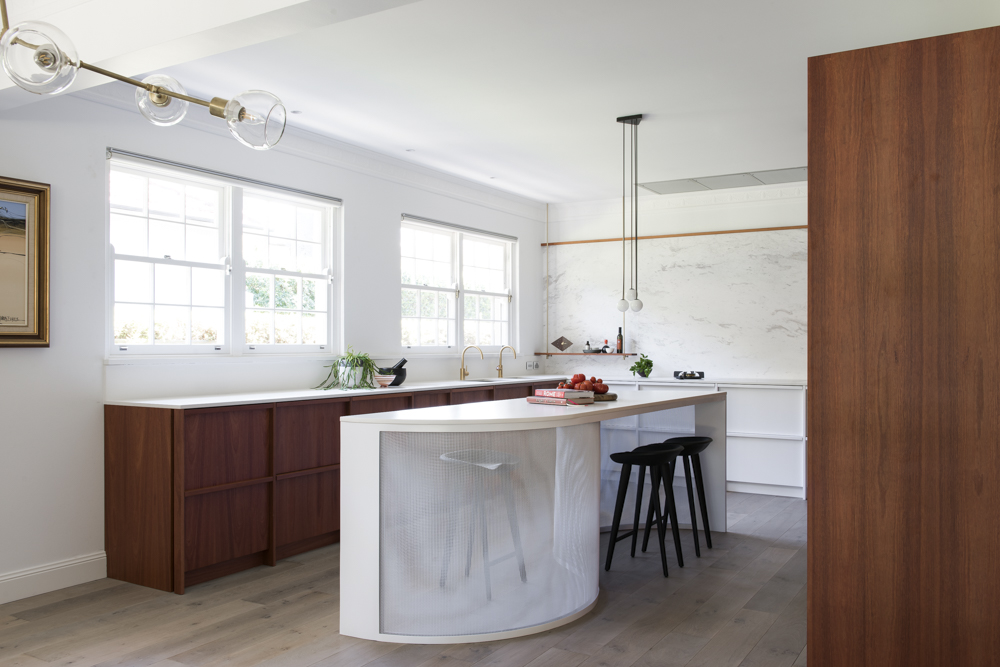 this elegant house in killara was the perfect canvas for the design  with a mixed collection of art pieces from asia europe and australia and with the     minosa  mesh kitchen by minosa  rh   minosadesign com