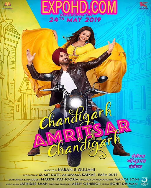 Chandigarh Amritsar Chandigarh 2019 Full Movie Download 720p | 1080p  | Esub 1.3Gbs [G.Drive]
