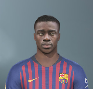 PES 2020 Faces Moussa Wague by The White Demon