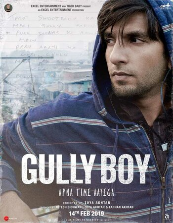 Gully Boy (2019) Hindi 480p HDRip x264 450MB ESubs