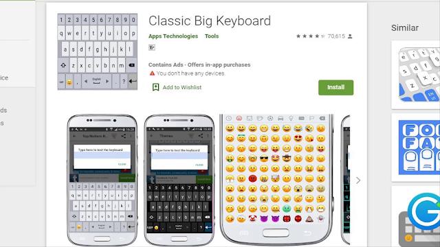Classic Big Keyboard