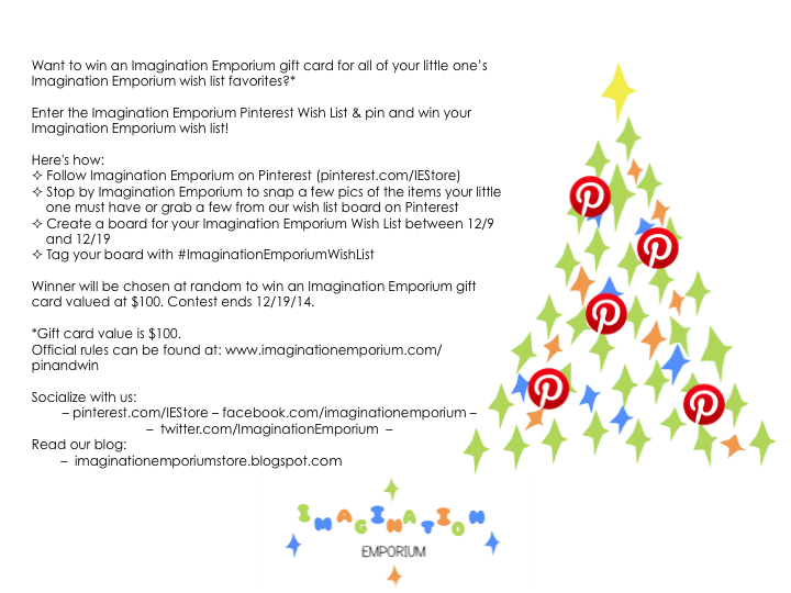 Did You Hear About Our Pinterest Wish List Contest