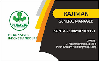 Nomor Rekening Utama De Nature Yang Resmi Dijamin Asli