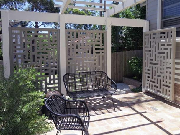 Minimalistische Eisen Zaun Design