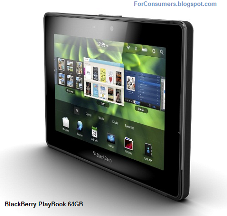 BlackBerry PlayBook 64GB price, review and specifications