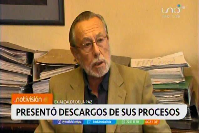 Juan Del Granado denuncia al contralor y a un diputado del MAS por persecución política