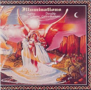 Devadip Carlos Santana & Turiya Alice Coltrane - 1973 - Illuminations