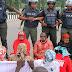 #BBOG Protest In Silence In Abuja, Denied Access To Presidential Villa