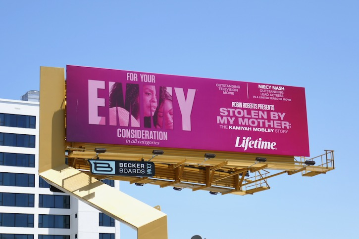 Stolen By My Mother Emmy FYC billboard