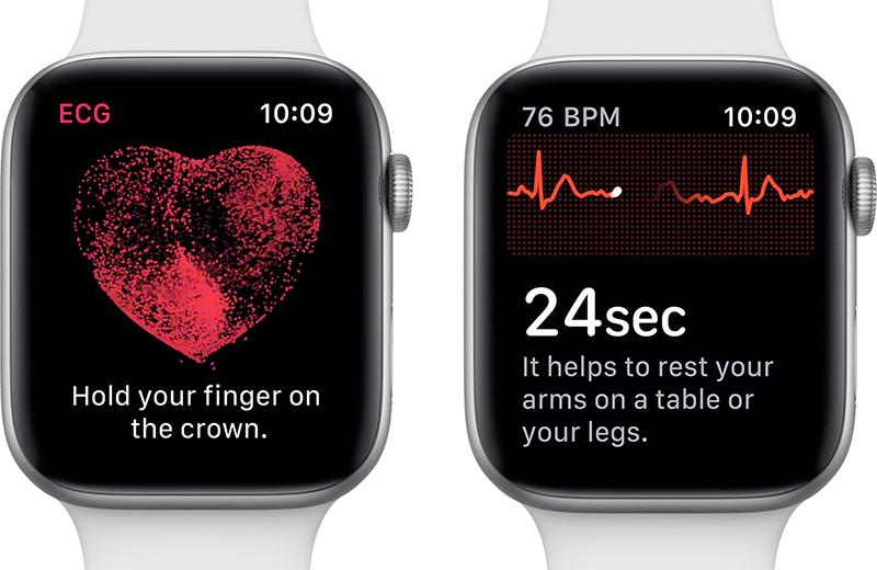 Apple Watch and Johnson Heartline