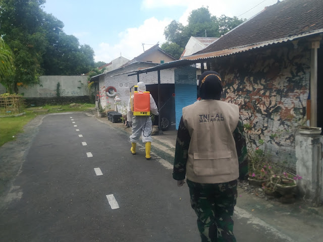 Menuju New Normal, Komandan Lanal Mataram Anjurkan Protokol Kesehatan