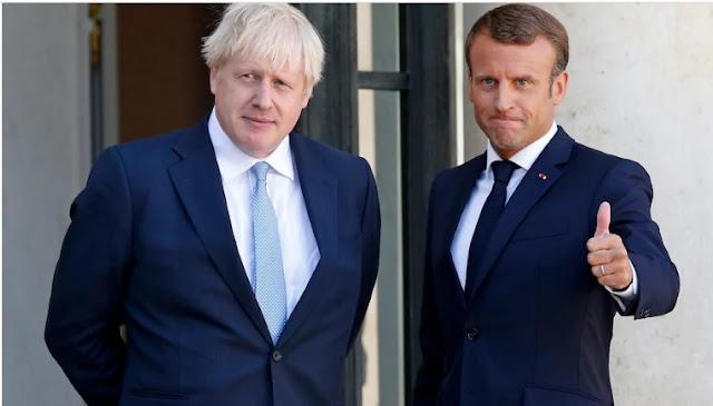 """Macron minaccia Johnson; """"Se la Gran Bretagna non prenderà misure drastiche, chiuderemo il confine"""""""
