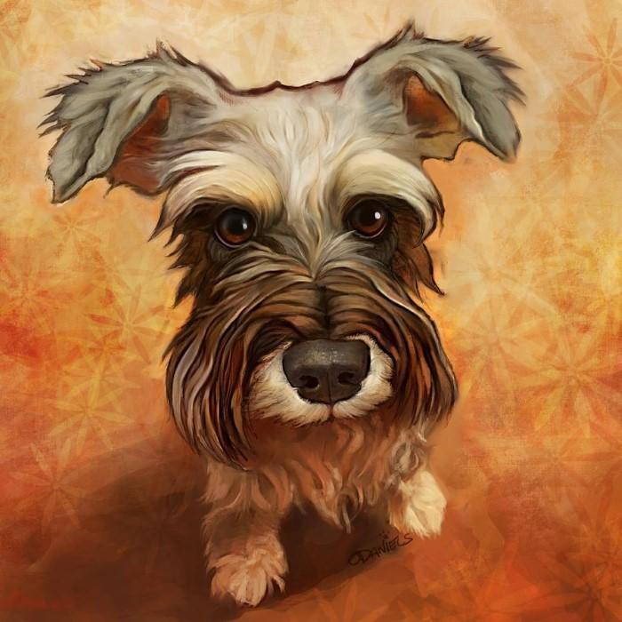 Портреты собак.
