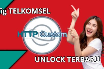Config HC Telkomsel OPOK Http Custom, Unlock SSH