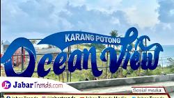 Wisata Karang Potong Ocean View Cianjur Viral 2021, Berikut Harga tiket masuknya