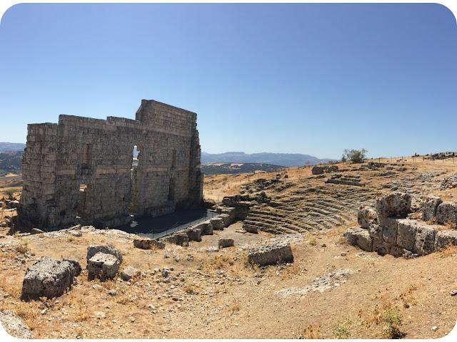 teatro_y_graderio_romano_Acinipo
