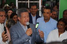 Leonel: el pueblo tiene la esperanza de que FP dirija los destinos del país