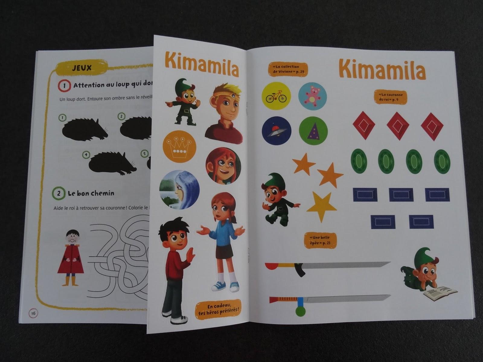 Les Mercredis De Julie Nouveautés Kimamila Aventures Livres Jeux