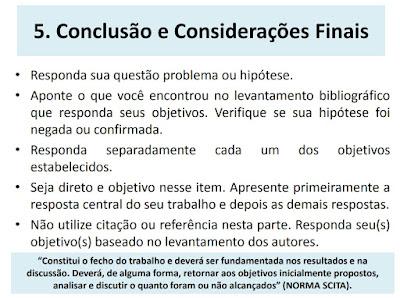 slide tcc conclusão