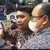 Rapat Paripurna HUT ke 73 Provinsi Sumatera Utara, Diwarnai Unjuk Rasa  Seorang Mahasiswa Tolak BBM Naik