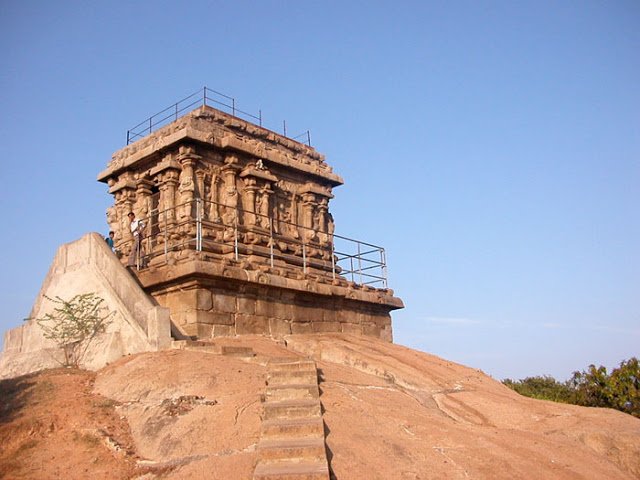 Temple near the light house
