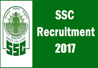 Staff Selection Commission North Region (SSCNR) Recruitment 2017 - Apply online 244 post Clerk, UDC, Stokeman, Assistant & Various post