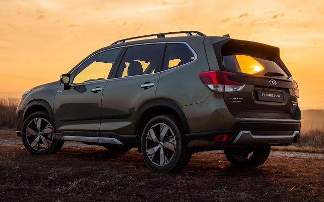 Novo Subaru Forester obtém classificação máxima de segurança do Japan NCAP