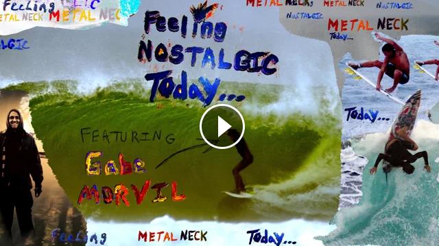A Short Surf Movie Starring Gabe Morvil - Feeling Nostalgic Today